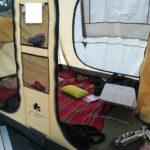 キャンプの寝床