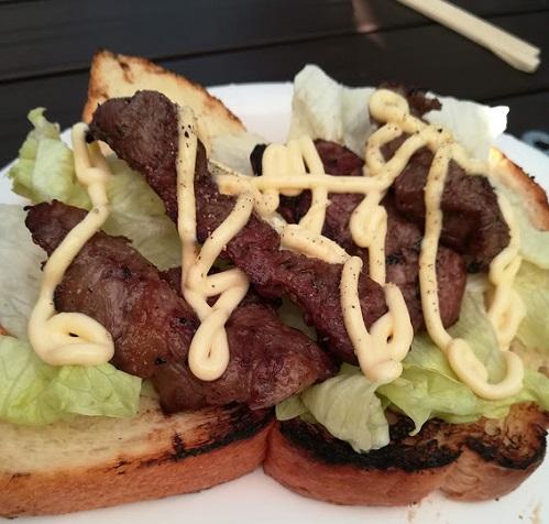 サンドイッチお肉バージョン